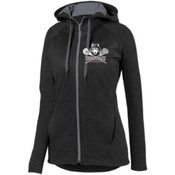 Wolfpack Ladies Full Zip Performance Hoodie
