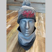 Wolfpack Lacrosse Beanie and Gaiter