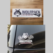 Wolfpack Sticker and Decal Bundle